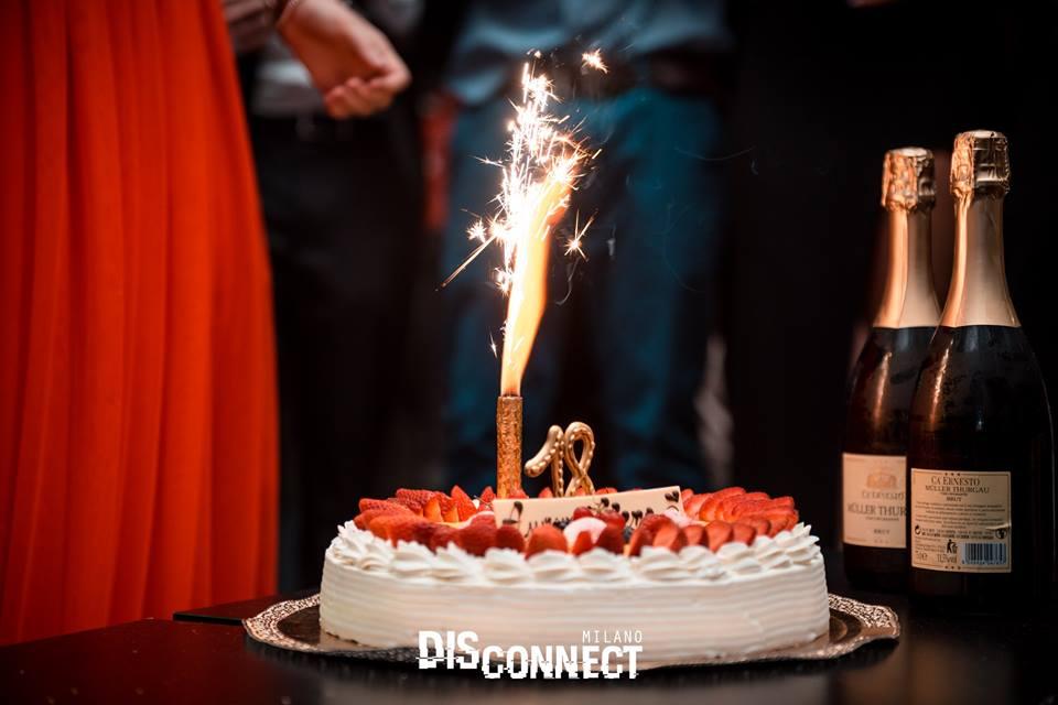 Torta e candela Flambè @ garden gate